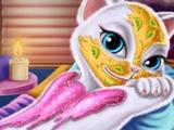 Игра Спа день ГВОРЯЩЕЙ Кошки Анжелы! ГОВОРЯЩИЕ ИГРЫ! Детские игры онлайн БЕСПЛАТНО!