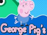 СВИНКА Пеппа ИГРА приключения Джорджа! Говорящие игры для детей! МУЛЬТИК!