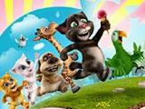 ИГРА Говорящий кот ТОМ собери алмазы! ПАЗЛЫ! РАЗВИВАЮЩИЕ ИГРЫ онлайн бесплатно!