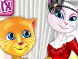 Игра Дизайн Одежды для ГОВОРЯЩЕЙ Кошки Анжелы! Лучшие детские игры онлайн БЕСПЛАТНО! МУЛЬТИК!