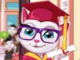 ГОВОРЯЩАЯ Кошка Анжела получает диплом ИГРА! ГОВОРЯЩИЕ игры! МУЛЬТИК! ЛЕТС ПЛЕЙ!