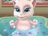 Кошка Анжела в Ванной супер ИГРА! МУЛЬТИК про АНЖЕЛУ! ЛУЧШИЕ бесплатные ОНЛАЙН ИГРЫ!