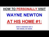 How to visit Mr. Las Vegas aka WAYNE NEWTON at his home!