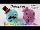 DIY Octopus Kawaii Sock Plushie/Stuffed Animal - How to