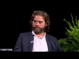 Brad Pitt spit on Zach Galifianakis