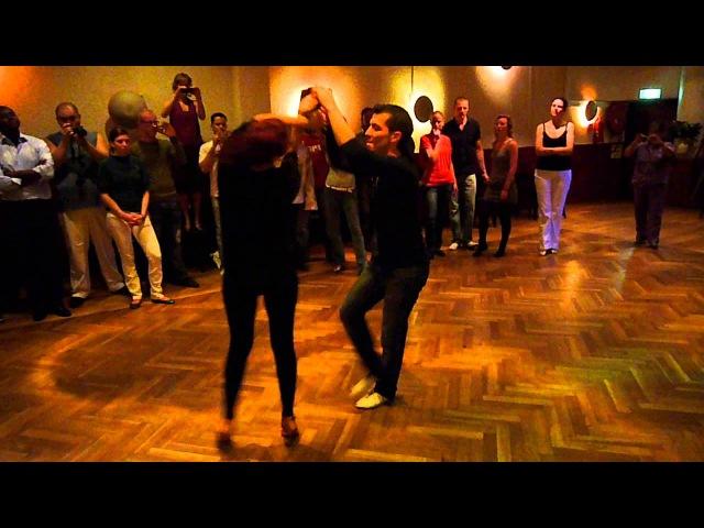 Oliver Pineda Vali Damaskou Workshop Summersalsa '09 Demo Social Dance