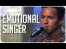 Jon Henrik's emotional powerful original song pulls heartstrings on Sweden's Got Talent