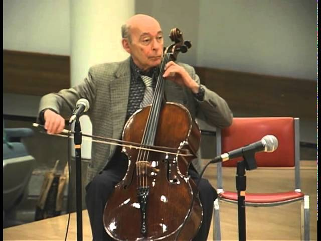 Starker teaching Popper Hungarian Rhapsody