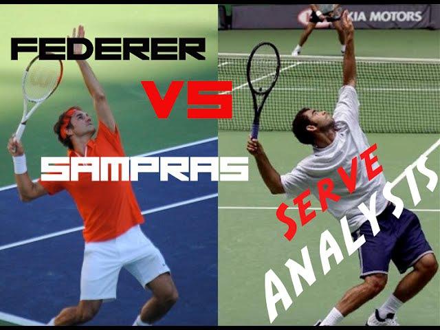 Federer vs Sampras Serve Analysis Pro Technique Top Tennis Training