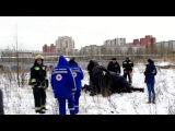 В Сети появилось видео задержания мужчины в Петербурге, который хотел себя сжечь
