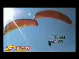 Paragliding crash 2/2