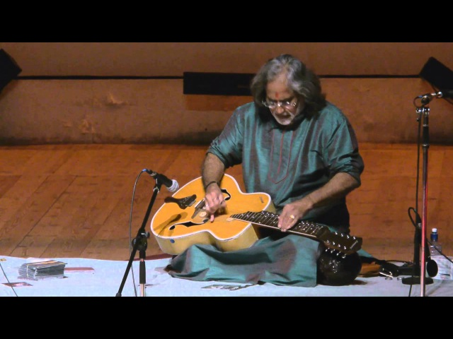 Vishwa Mohan Bhatt - Mesmerising performance! - Denis Kucherov on tabla