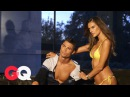Behind the Scenes of Alessandra Ambrosio's GQ Body Issue Shoot with Cristiano Ronaldo | GQ