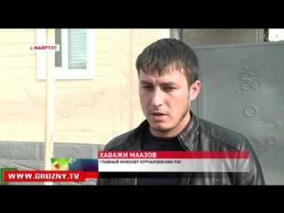 Сотрудники Чеченэнерго проводят рейды в Курчалоевском районе