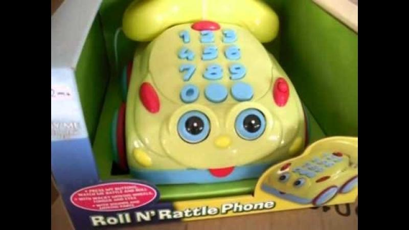 Видеообзор детская игрушка - Телефон для деток (kidtoy.in.ua) 2015
