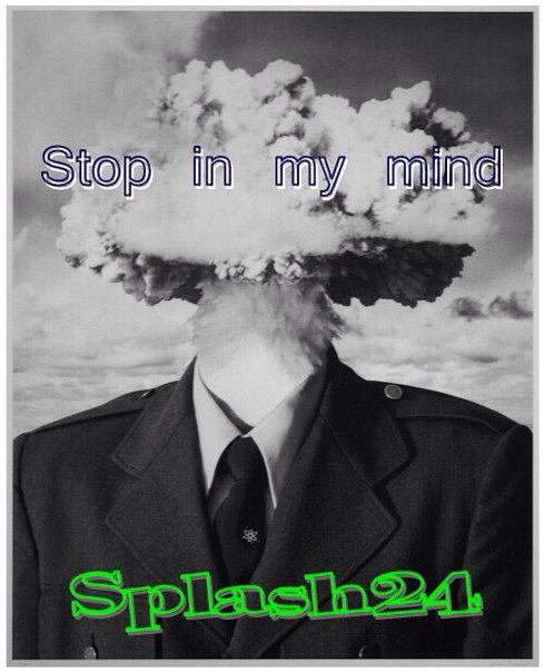 Splash24-Stop in my mind