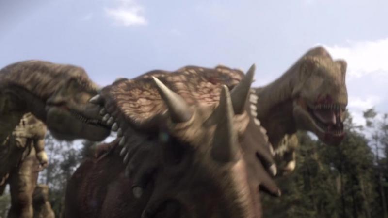 Планета динозавров. BBC: 3-серия