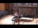 Сен Cанс аллегро аппассионато Алексей Толстов виолончель Анна Тамаркина фортепьяно