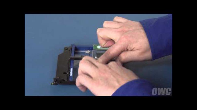 Mac mini (Mid 2010) Data Doubler 2nd Hard DriveSSD Installation Video