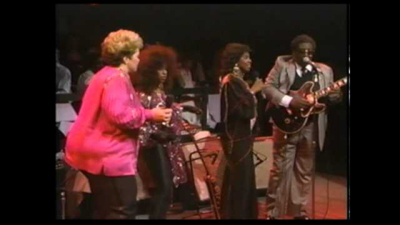 Etta James, Gladys Knight and Chaka Khan - Ain't Nobody Business (live BB King Friends) [HQ]