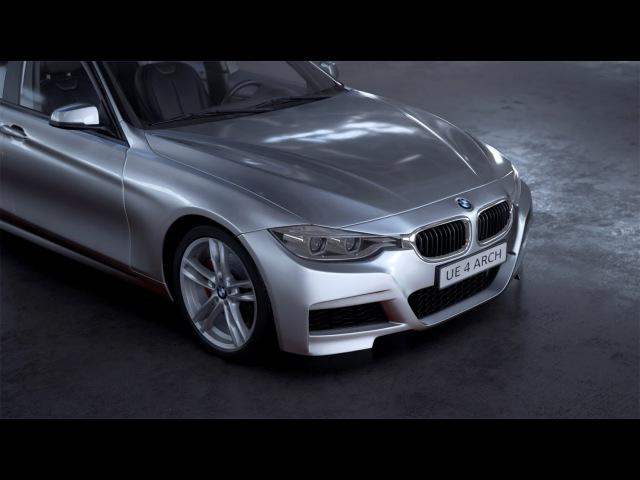 UE4Arch - Car cinematic
