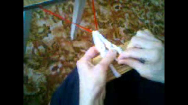 Плетем сетку из пластиковых бутылок