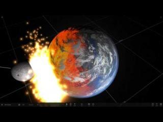 Что будет с Землей если на нее упадет 5 Лун?