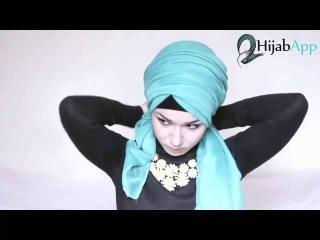 Video Hijab Tutorial Turban Hijab App Nabiilaee 2015