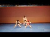 Taekwondo Match Turns Into a Dance Battle  AFV