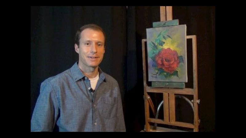 The Art of Nicholas Hankins - Red Rose