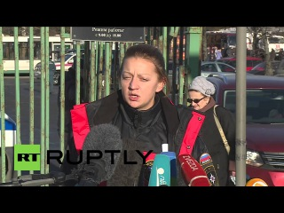 Россия: Тысячи искал психологическую поддержку в Санкт-Петербурге после Синай авиакатастрофе.