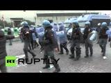 Италия: Столкновения студентов с полицией против реформы