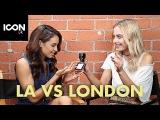 LA vs London Makeup Essentials  Sonya Esman &amp Danielle Peazer