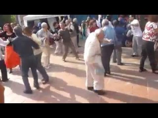 ORIGINAL Old Man Dancing: Throws Away Canes!
