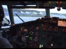 Полет на север / Flight to the North - DME - MMK Tupolev Tu-154 cockpit video