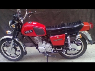 Планета 7 Мотоцикл фото