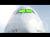 Green Screen Airplane Front