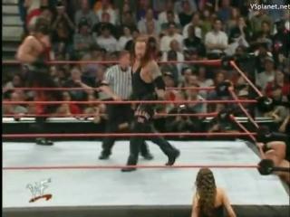 Backlash (2001) - Кейн и Гробовщик vs Стоун Колда и Трипл Эйч