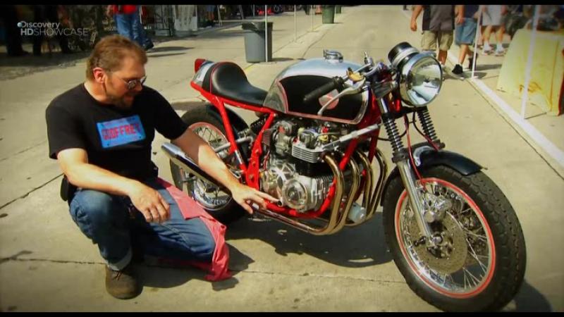 Discovery Гоночный мотоцикл Cafe Racer 1 сезон 9 10 серия