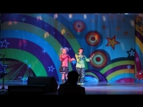 Дуэт Риск Лера и Артём с песней Зимушка на конкурсе Маленькие Звёзды - Лауреаты 2 степени
