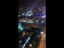 Вид на ночной Екатеринбург с 52 этажа смотровая площадка Высоцкий