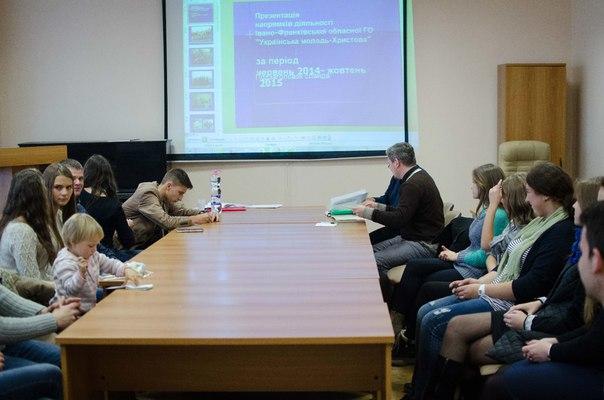 Відбулися збори Обласної молодіжної організації «Українська Молодь- Христові»