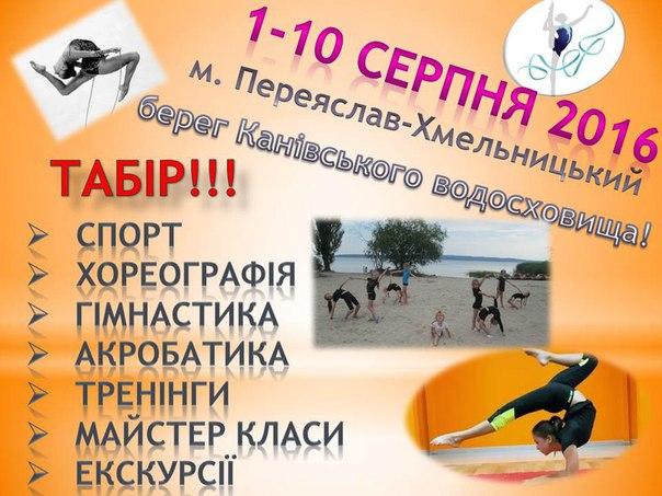 Літній навчально-тренувальний гімнастичний табір
