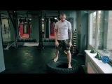 Круговая тренировка боксера. Работа на укрепление и перемещение ног от Андрея Басынина.
