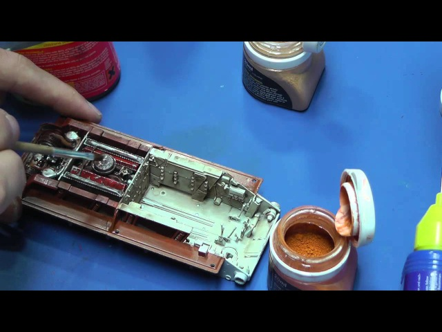 How to build T-34/76 Hobby Boss 1/48 Part 2 Interier