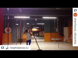 """Erika Yakovleva on Instagram: """"#Repost @trashdance.ru New flying chinese pole by @pole4you in our studio @Trashdance.ru #Repost @shevtsova_elizaveta with @repostapp ・・・ I…"""""""