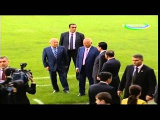 Ислам Каримов показал Ташкент Гурбангулы Бердымухамедову_Президент Туркменистана