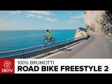 Чемпион по триалу Витторио Брумотти снял нереальное видео с трюками на велосипеде