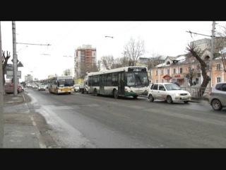 Перекресток пр-та Ленина и ул. Матросова ожидает реконструкция, мост у Нового рынка расширится