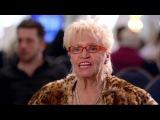 KISS MY ASS BABY - Britain's Got Talent 2013 - Kelly Fox (Cowell kisses Amanda's bottom)